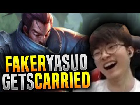 Faker Getting Carried in Korea SoloQ ft Rekkles! - SKT T1 Faker Picks Yasuo Mid! | SKT T1 Replays