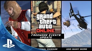 GTA Online - Freemode Events Trailer | PS4