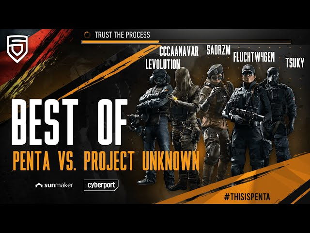 Best of GSA League 2021 Relegation Final   PENTA vs. Project Unknown  Rainbow Six Siege
