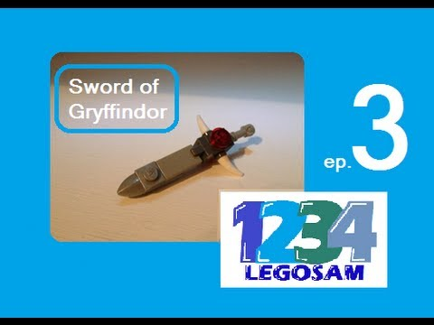 Lego How To Build Episode 3 Sword Of Gryffindor Youtube