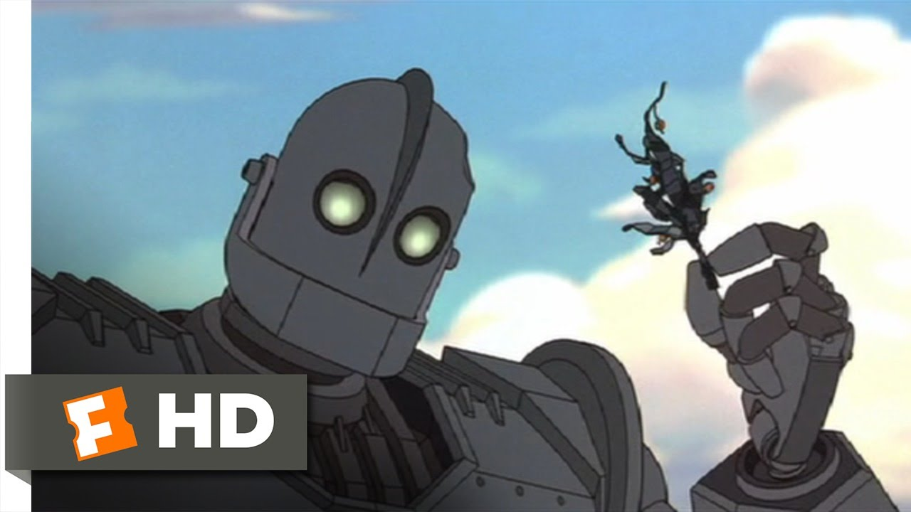 The Iron Giant 510 Movie Clip Giant Problems 1999 Hd Youtube