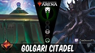 Golgari Citadel: Why spend mana when you can spend life?
