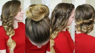 4 Christmas Morning Hairstyles   Christmas Day 2017   Braidsandstyles12