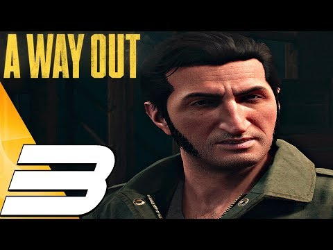A WAY OUT - Gameplay Walkthrough Part 3 - Family & Construction Site (Full Game) PS4 PRO