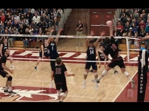 BYU vs Stanford (FULL GAME) Men's Volleyball PART 2/2 - 2/24/17