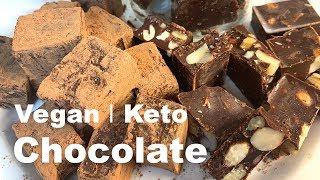 The best homemade vegan chocolate   Keto - Super easy recipe