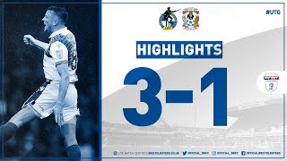 Match Highlights: Bristol Rovers 3-1 Coventry City