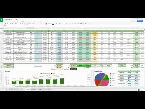 Build your own Portfolio Tracker on Google Sheets