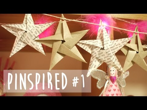 Origami Star Garland - Christmas Pinspired #1