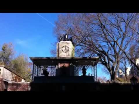 Delacorte Music Clock Central Park Zoo Thanksgiving in New York
