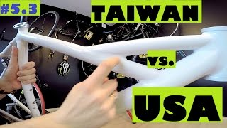 Cannondale Handmade in USA vs. Cannondale from Taiwan. Bikes in depth review.