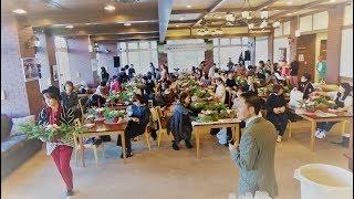 志穂美悦子「MerryXmas×DearLeo」クリスマスフラワーアレンジメントワークショップ 2018
