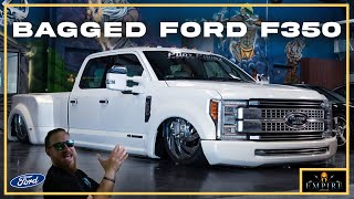 Bagged Ford F350 | Review | Empire Auto Spa