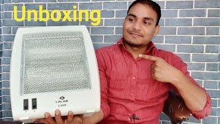 Bajaj Room heater unboxing Bajaj RHX 2 room heater unboxing, dual tube lights