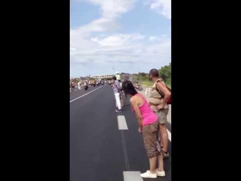 Tour de France - Near death experience