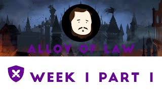 Mistborn Adventure Game - Alloy of Law One Shot #1, Part 1 - McFanny