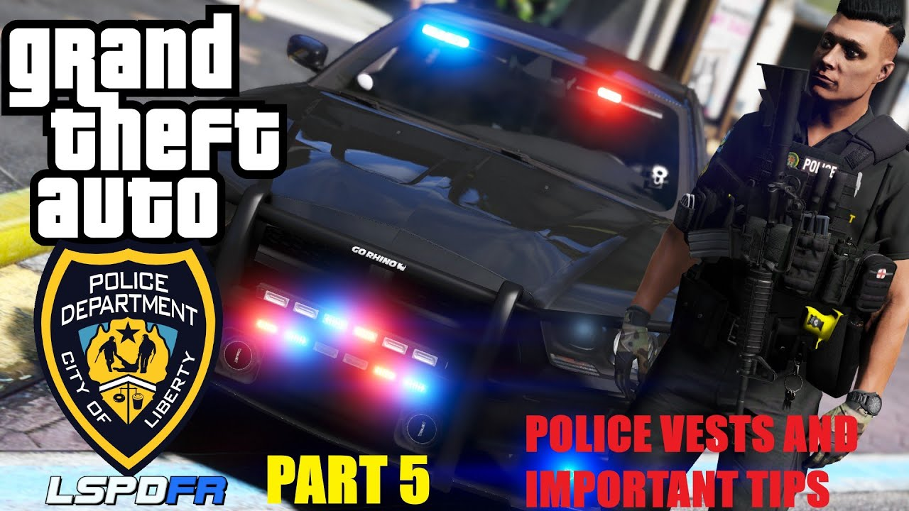 Part 5 How too install Police Vests And Police Radio Important Control Tips and Settings GTA 5
