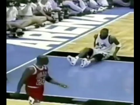 Pippen + Jordan Defense on Penny Hardaway - 1996 ECF Game 3
