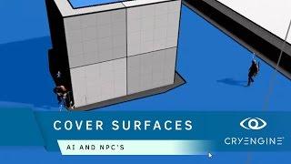 How to create a Cover Surfaces for AI | AI & NPCs