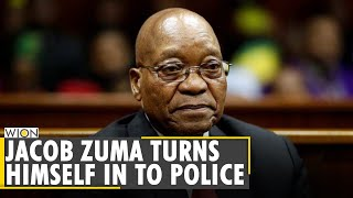 South Africa: Former President Jacob Zuma hands himself over to police | Latest English News | World