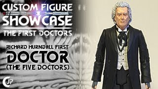 Custom Figure Showcase - The First Doctors : Richard Hurndall First Doctor (The Five Doctors)
