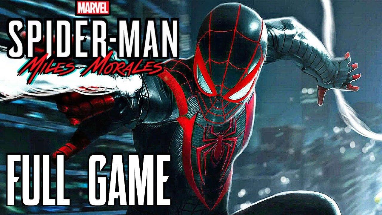 SPIDER-MAN MILES MORALES Gameplay Walkthrough FULL GAME