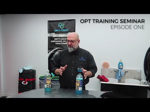 Optimum Polymer Technologies Detailing Training Seminar:  Episode 1