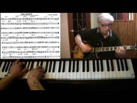 Delores - piano & guitar jazz cover - Yvan Jacques