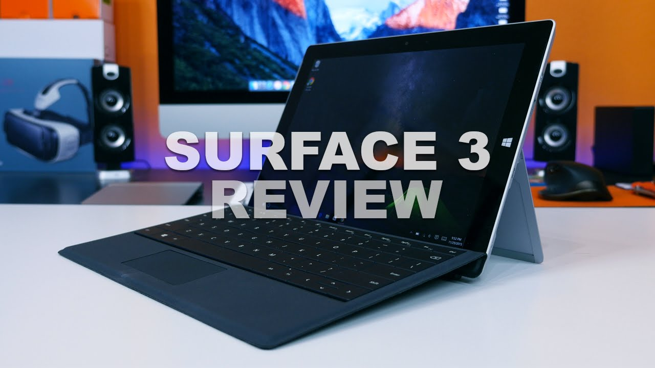 microsoft surface 3 lte review more capable than the ipad pro youtube. Black Bedroom Furniture Sets. Home Design Ideas