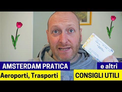 AMSTERDAM Pratica: Aeroporti, Trasporti, Soldi E Altri Consigli Utili