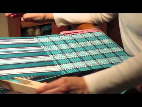 Weaving towels