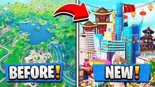 La saison 4 MAP est en CHINE ! Epic fuite de ce PICTURE! ( Mise à jour Fortnite )