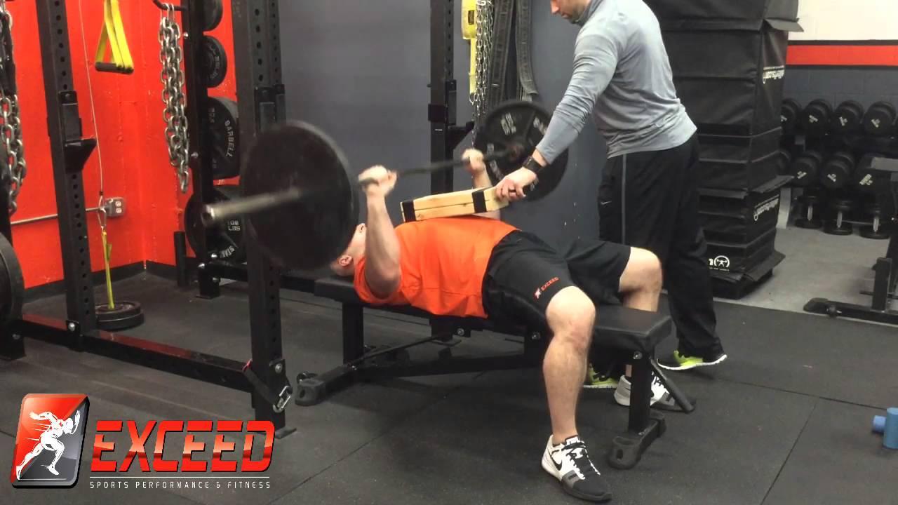 bench press - 0 2 4 board drop set - youtube