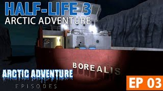 Half-Life 2: Episode 3 - Arctic Adventure - Episodio 3 - Borealis, Aperture Science & Black Mesa
