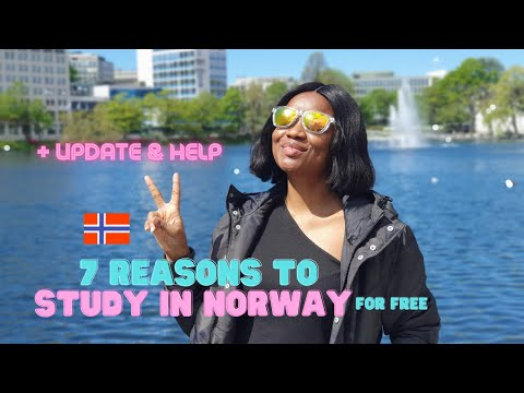 Download 7 reasons to study in Norway + Help on how to do it and Update!  (Study in Norway for FREE!)