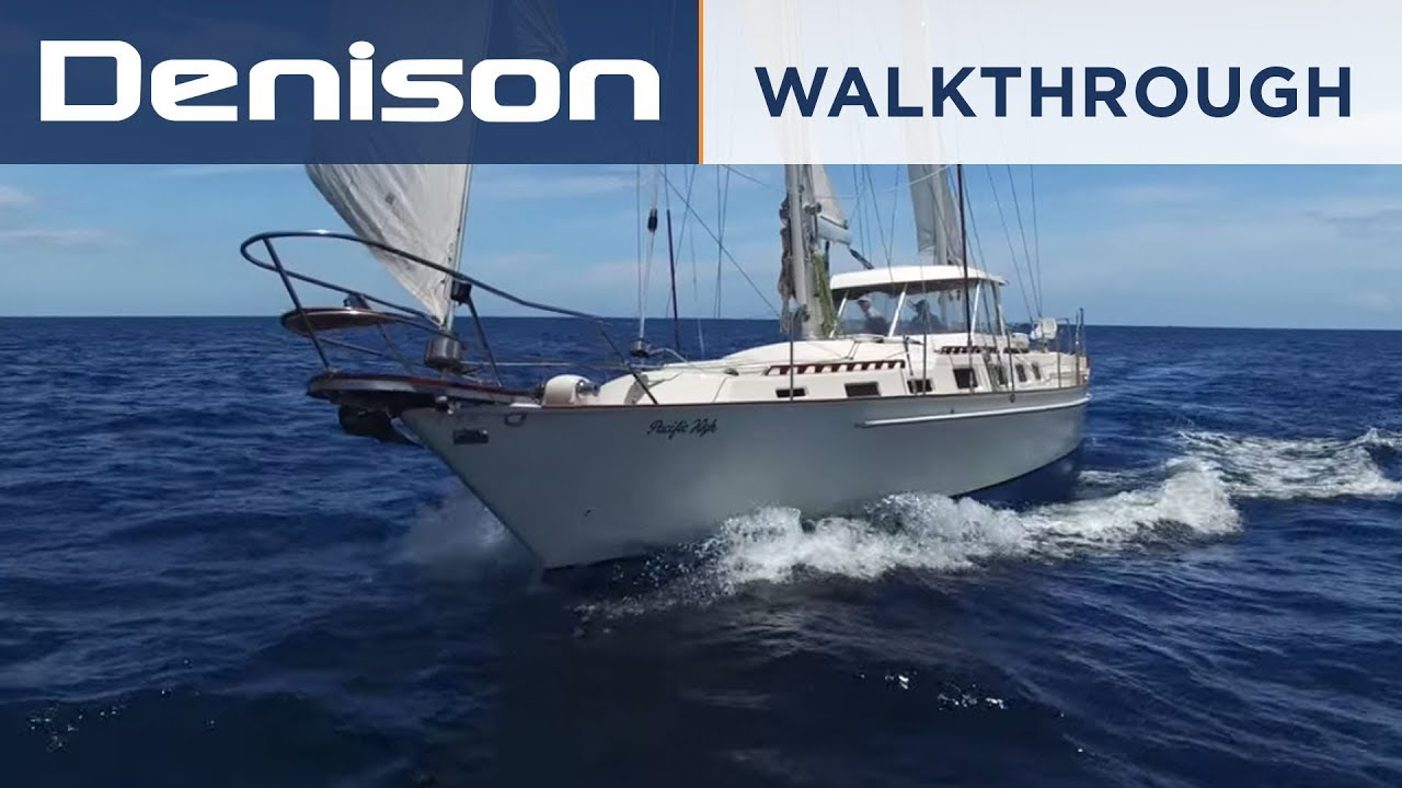 Ketch 63 Sailboat Tour [Walkthrough]