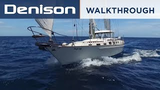 Ketch 63 Sailboat Tour