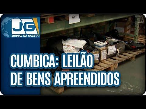 Cumbica: leilão de bens apreendidos