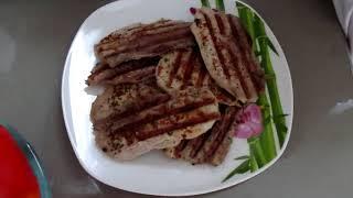 Приготовление мяса с овощами на гриле Kitford 1602