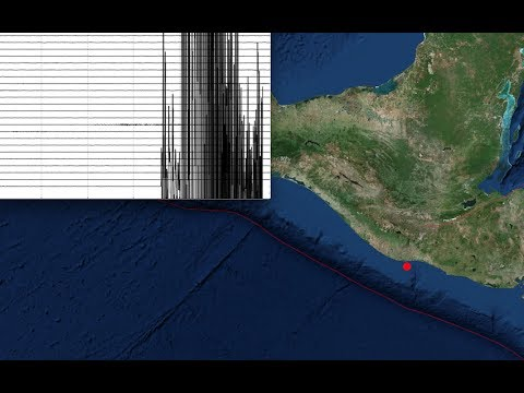*Big Quake* detected near Central America Coast | Possible Tsunami