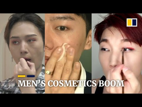 Men's make-up market is booming in Asia