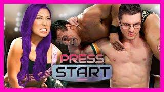 STARTING OUR WWE2K17 CAREER (Press Start)