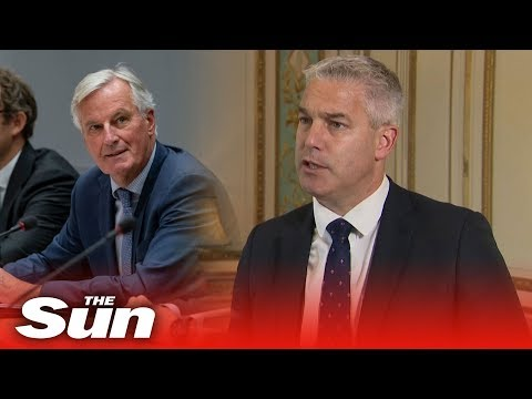 Stephen Barclay says EU knows a deal is 'doable' after he meets Brexit negotiator Michel Barnier