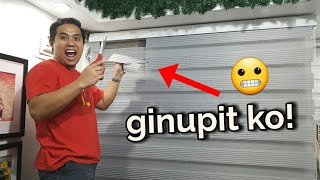 SOLUSYON SA WINDOW BLINDS!  DIY Home Makeover Philippines
