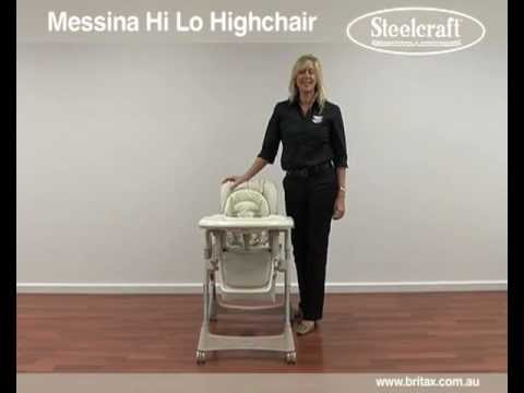 Steelcraft Messina High Chair Baby Mode Melbourne Australia