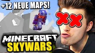 12 NEUE SKYWARS MAPS! & DER BUG DES TODES! ✪ Minecraft SKYWARS
