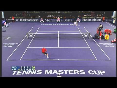 Classic Finals Nalbandian v Federer 2005 Shanghai