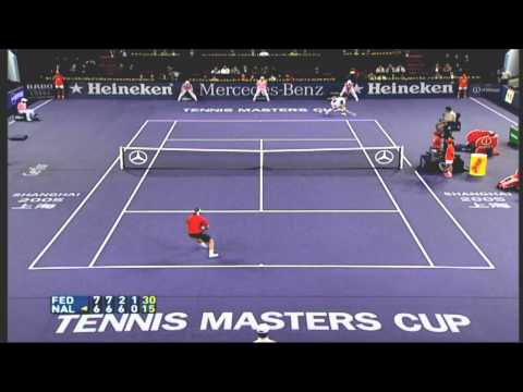 game theoretic analysis of federer vs
