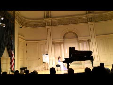 Lauren Plays At Carnegie Hall 2014