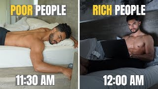 5 Things Rich People Do That The Poor Don't
